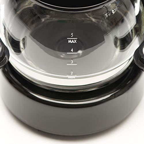 dometic perfectcoffee mc 052, reise-kaffeemaschine, 12 v, 170 w, für auto, lkw oder boot, schwarz